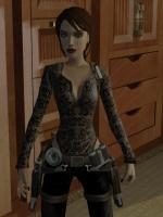 Goth Lace Shirt Wikiraider